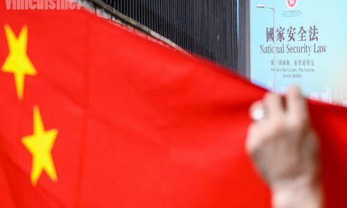 การผ่านกฎหมาย ความมั่นคงแห่งชาติที่กว้างขวางสำหรับจีน