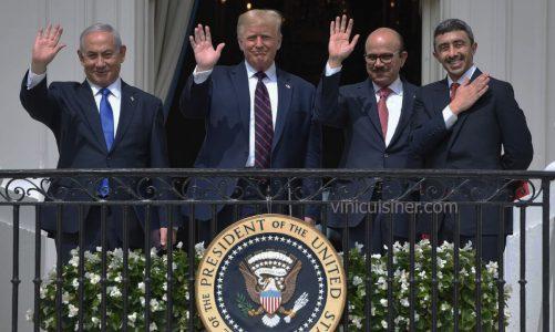 อิสราเอลกับสหรัฐอาหรับและบาห์เรน ข้อตกลงสันติภาพและชาติคู่เจรจา