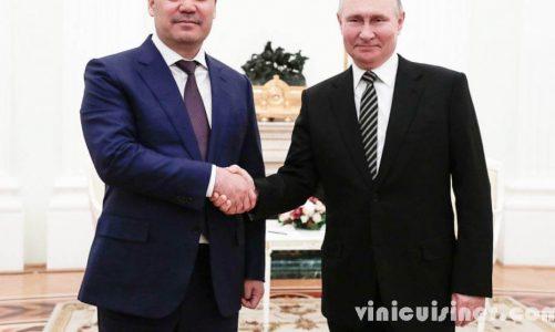 รัสเซียเป็นเจ้าภาพ ให้ผู้นำคีร์กีซสถานคนใหม่