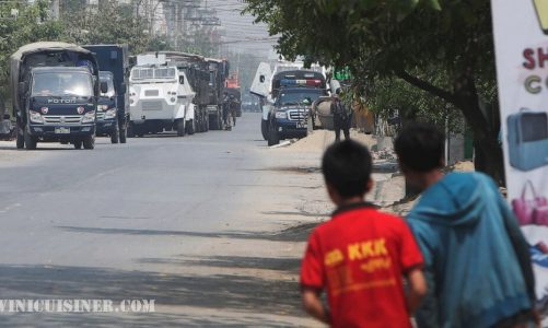 รัฐบาลทหารพม่า หวั่นกระแสข้อมูลขณะการประท้วง