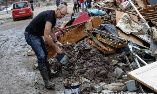 เบลเยียมจัดงานวันไว้ทุกข์จากเหตุน้ำท่วม