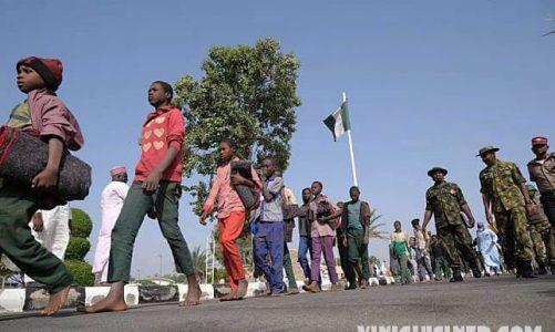 กองกำลังไนจีเรียปล่อยตัวประกัน 180 กว่าคน